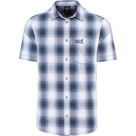 Jack Wolfskin Hot Chili T-shirt Homme, night blue checks